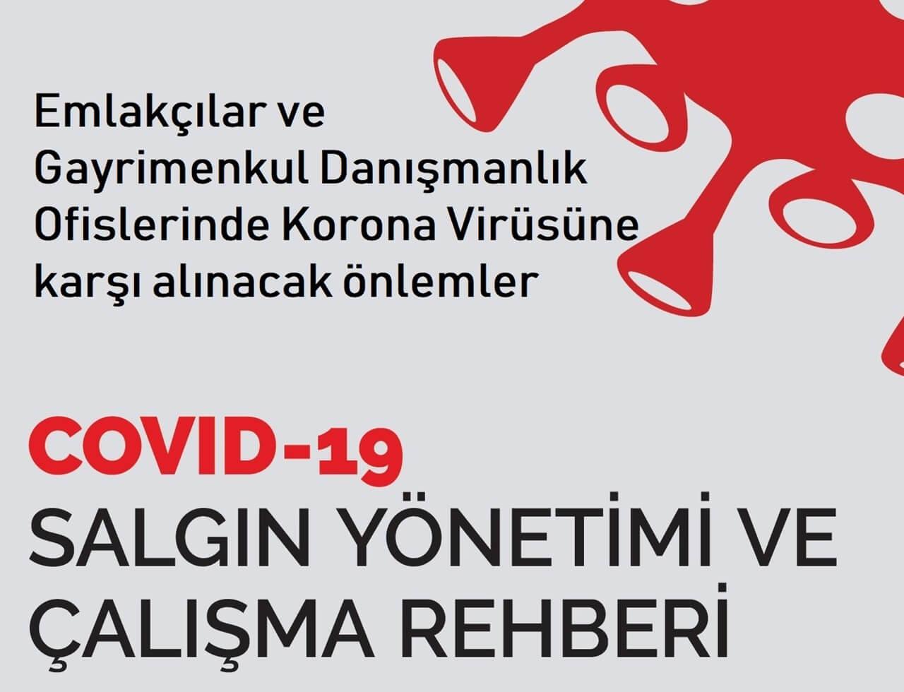Emlakçılar ve Ofislerinde Korona Virüsüne karşı alınacak önlemler